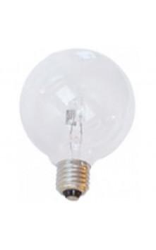 Галогенная лампа круглая 125 мм прозрачная  E27 18W