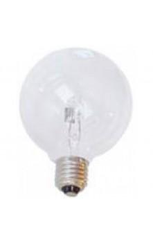 Галогенная лампа круглая 95 мм  прозрачная  E27 28W