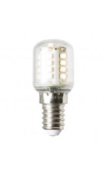Светодиодная лампа грушевидная прозрачная, теплый св.  E14 1.4W