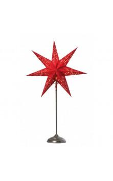 Beatrix декоративный светильник (красный/серебро)