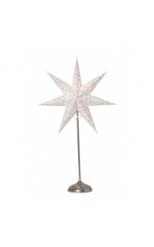 Beatrix декоративный светильник (белый/серебро)