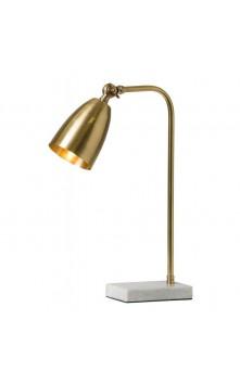 Bologna Настольный светильник (латунь / белый)