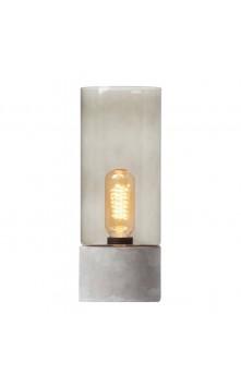 Albin Настольный светильник (бетон/стекло)