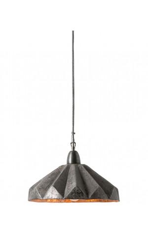 Clinton Подвесной светильник (серый с золотой отделкой)